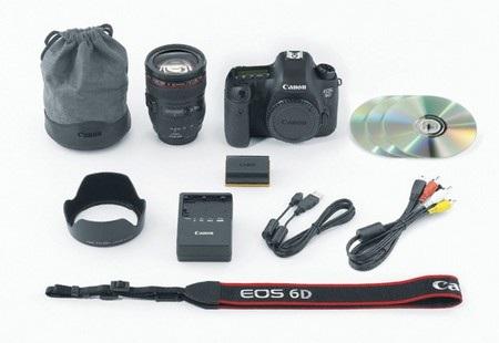Bộ phụ kiện của Canon EOS 6D