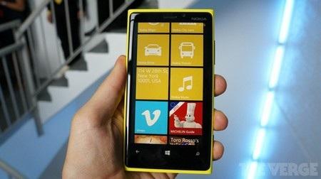 Giao diện Windows Phone 8 trên Lumia 920