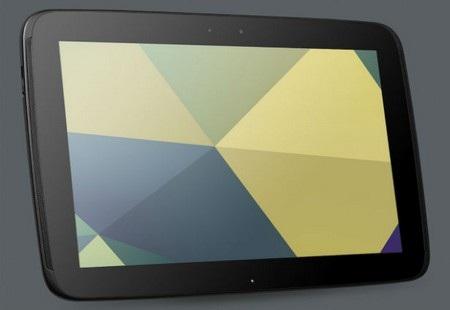 Google chính thức đặt chân vào phân khúc máy tính bảng cỡ lớn với Nexus 10