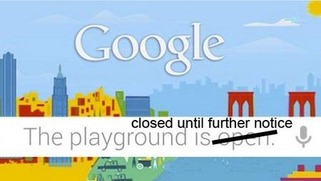 Thời tiết bất lợi đã buộc Google phải thay đổi kế hoạch của mình