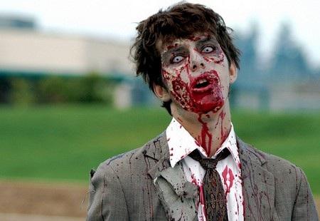 Xác sống zombie vẫn là chủ đề hóa trang ưa thích cho ngày lễ Halloween