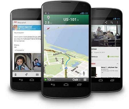 Ảnh thực tế Nexus 4: