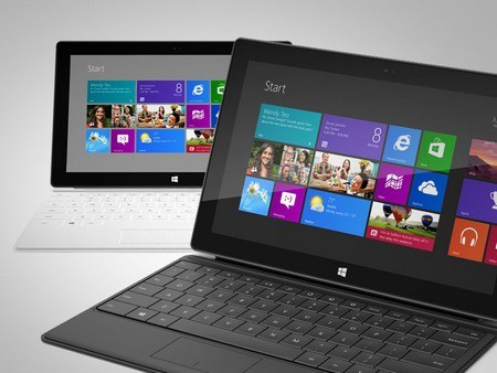 Máy tính bảng Surface của Microsoft sẽ có cả phiên bản Windows 8 lẫn Windows RT