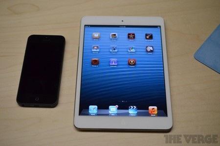 iPad mini và iPhone 5