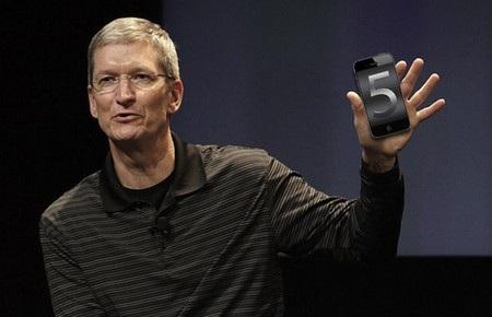 """Tim Cook """"bóng gió"""" phủ nhận việc iPhone 5 ế ẩm"""