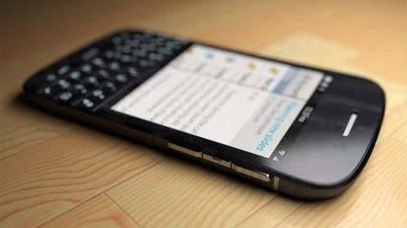 Các cạnh và mặt sau của BlackBerry N10