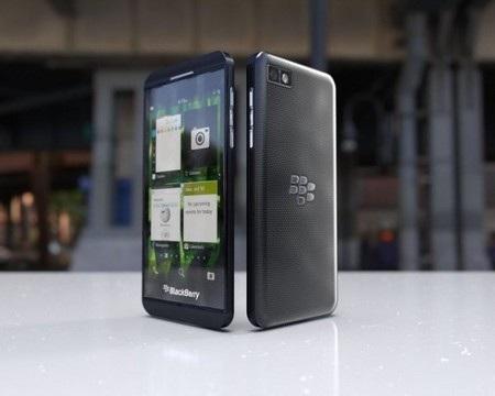 Phiên bản màu đen của BlackBerry Z10