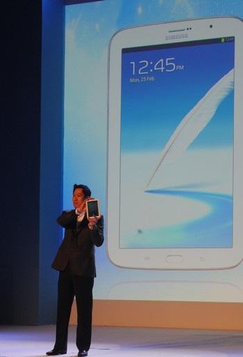 Galaxy Note 8.0 được Samsung mang đến SEA Forum 2013
