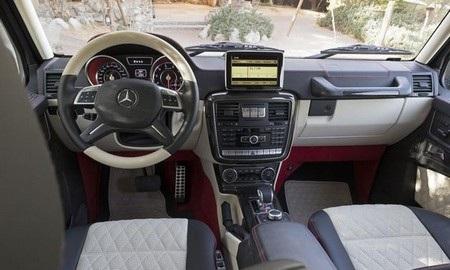 Buồng lái của xeG63 AMG