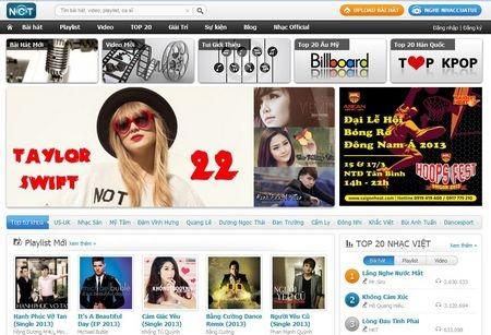 Nhaccuatui.com là một trong những trang web nghe nhạc trực tuyến hàng đầu Việt Nam hiện nay