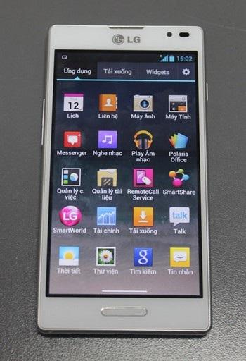 Đây là một trong những smartphone tầm trung có thiết kế đẹp mắt và sang trọng của LG.