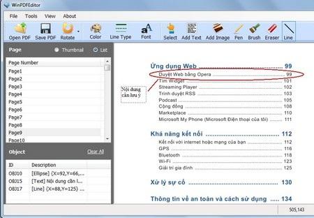 File PDF sau khi đã được chỉnh sửa và chú thích