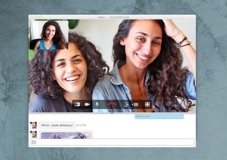 Chức năng gọi điện video trên Viber dành cho máy tính