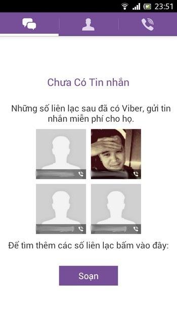 Viber phiên bản mới hỗ trợ cả tiếng Việt
