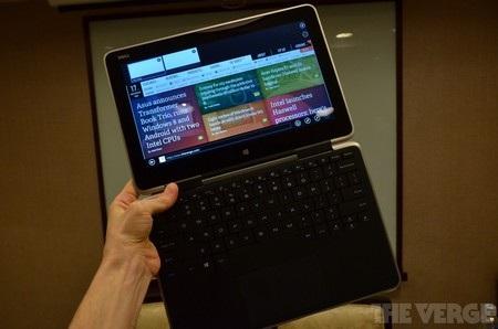 XPS 11 là chiếc laptop có khả năng biến hóa để trở thành một chiếc máy tính bảng
