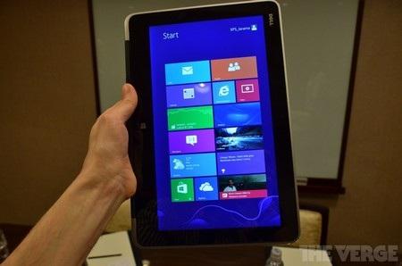 Quay ngược màn hình để sử dụng như một chiếc máy tính bảng