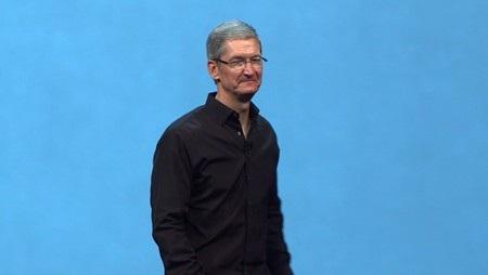 CEO Tim Cook đăng đàn khai mạc sự kiện WWDC 2013 của Apple.