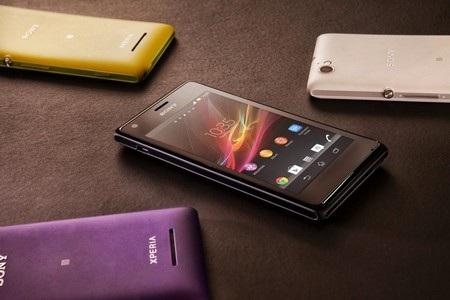 Xperia M có phong cách thiết kế giống với loạt Xperia ra mắt gần đây của Sony