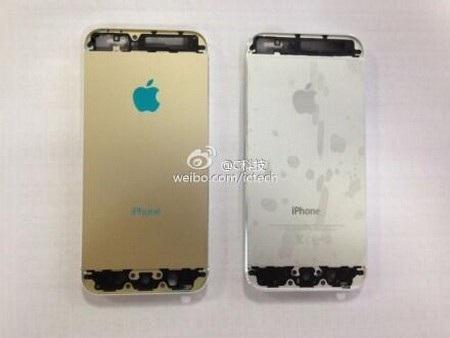 Lớp vỏ iPhone mới không có nhiều thay đổi so với iPhone 5 trước đây ngoại trừ màu sắc