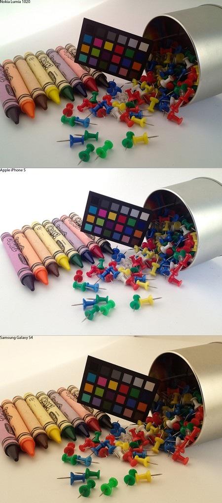 Chụp ảnh nhiều màu sắc -