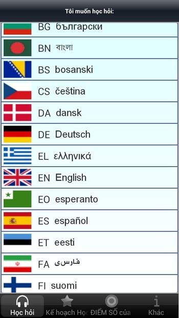 Tuyệt hay ứng dụng Android giúp vừa chơi vừa học ngoại ngữ