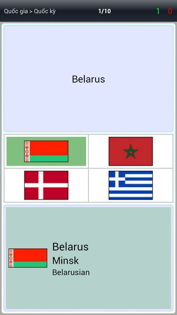 Trò chơi tìm từ trái nghĩa để giúp ghi nhớ nghĩa của từ