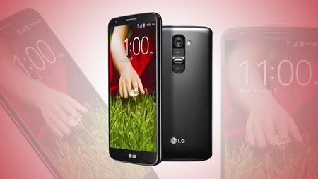 LG G2 có thiết kế khá ấn tượng và đẹp mắt