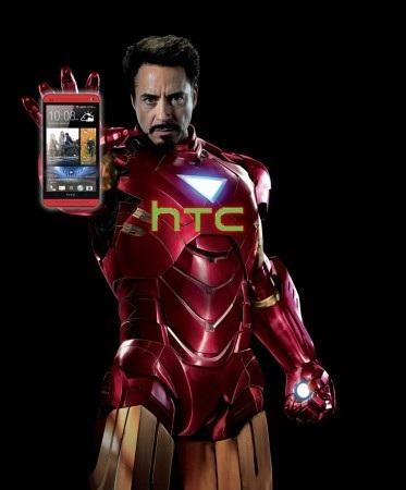 """""""Người sắt"""" Robert Downey Jr. trở thành gương mặt đại diện của HTC"""