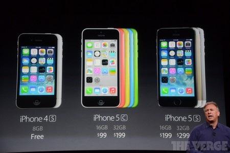 iPhone 4S sẽ trở thành miễn phí và iPhone 5 không còn tồn tại sau khi bộ đôi iPhone mới trình làng