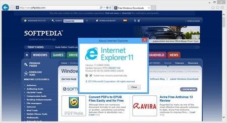 Microsoft ra bản thử nghệm siêu tốc Internet Explorer 11 trên Windows 7
