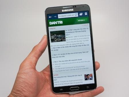 Duyệt web trên Galaxy Note 3