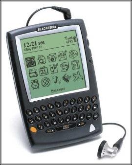 BlackBerry 5810, thiết bị có chức năng điện thoại đầu tiên của RIM