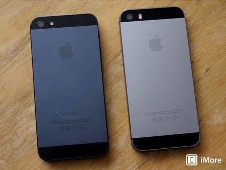 Không có quá nhiều sự khác biệt giữa iPhone 5S và iPhone 5