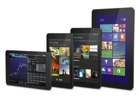 Dell trình làng loạt 4 máy tính bảng chạy Windows 8 lẫn Android