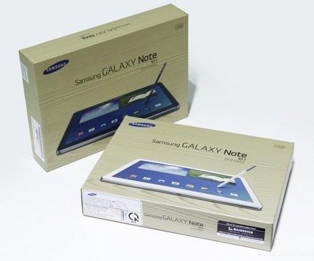 Hộp đựng của Galaxy Note 10.1 phiên bản 2014