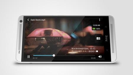 Âm thanh của One max được đảm bảo nhờ hệ thống loa stereo kép uy lực