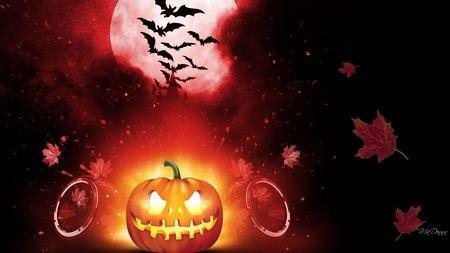 Bộ bảo vệ hình nền chủ đề Halloween