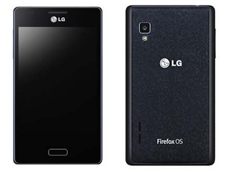 FireWeb là smartphone chạy Firefox OS đầu tiên của LG