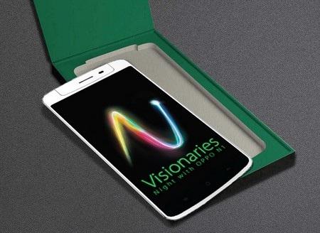 Smartphone camear xoay OPPO N1 ra mắt tại Việt Nam ngày 30/10