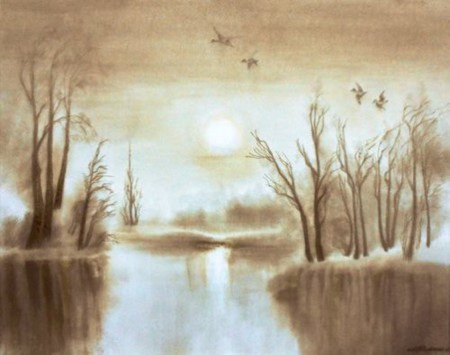 Video về nghệ thuật vẽ tranh đặc biệt của Zhizenko: