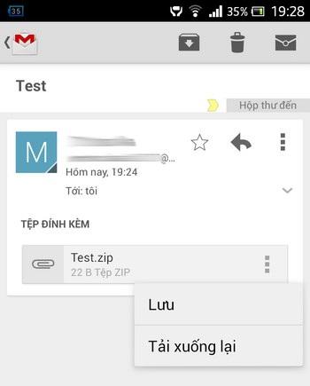 Thiết lập chức năng tự động trả lời thư trên ứng dụng Gmail của Android