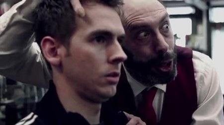 Gương mặt đáng sợ của người thợ cắt tóc trong đoạn clip quảng cáo của Nokia