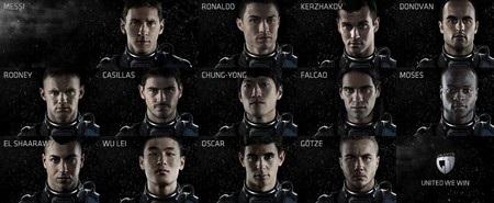 Đội hình các ngôi sao bóng đá của Samsung