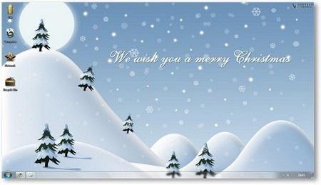 Download bộ giao diện Giáng sinh dành cho Windows 7 miễn phí