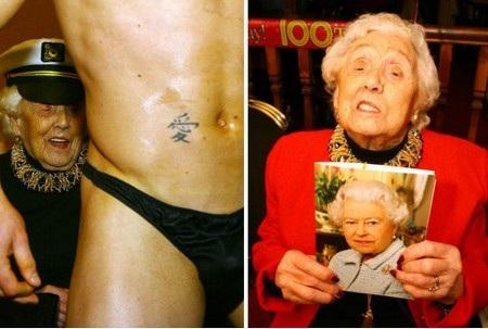 Cụ bà Doris Deahardie đã có cách đặc biệt và đáng nhớ để mừng sinh nhật tuổi 100 của mình
