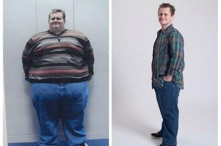 Rob Gillett trước và sau khi giảm cân