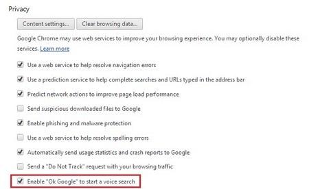 Bây giờ, bạn hãy thử tìm kiếm một nội dung gì đó bằng giọng nói với Google Chrome.