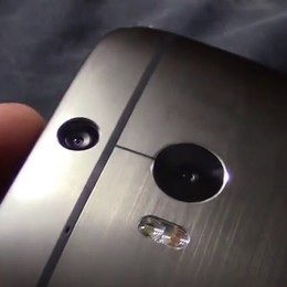HTC M8 sẽ được trang bị đến 2 camera ở mặt sau của sản phẩm