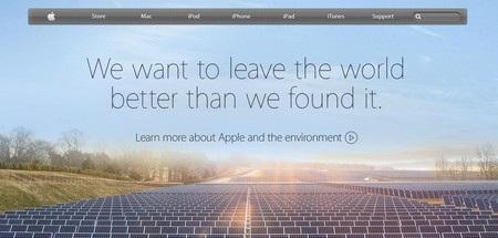 Hình ảnh tương tự xuất hiện trên trang web của Apple