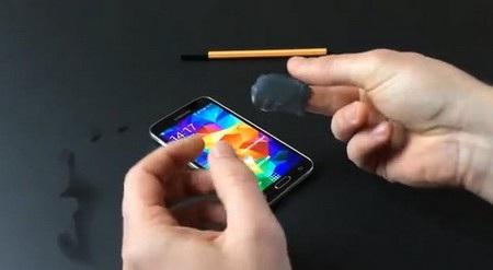 Dấu vân tay giả được sử dụng để qua mặt Galaxy S5